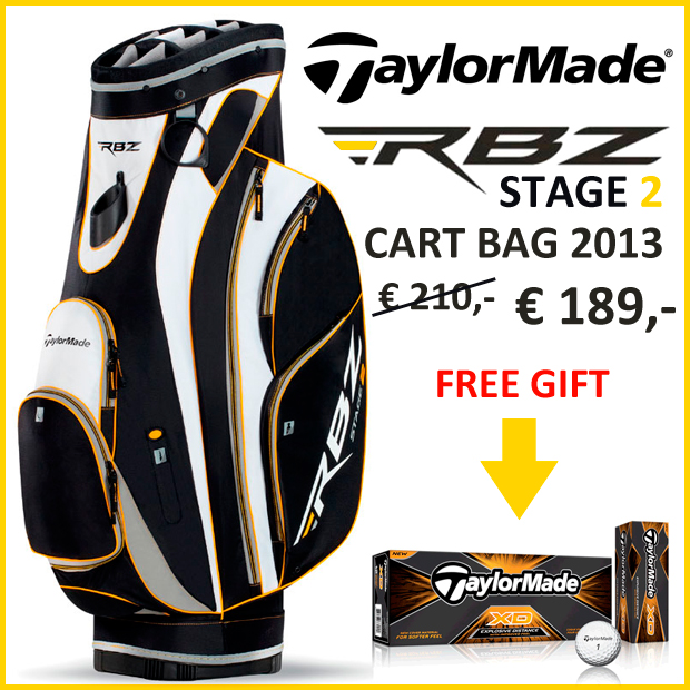RBZ TAYLOR MADE CART BAG STAGE 2